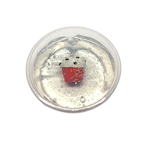 Yovvin Fluffy Slime, Colorés en Boue DIY Non-toxique Stress Relief Pas de jouets Borax Jouets à Boue pour Enfant et Adulte (H06)