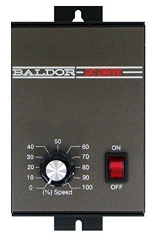Baldor Electric, BC138, 0-90VDC, 0.33 HP, Nema 1, DC Drive by Baldor Electric