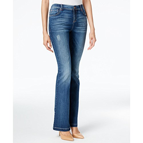 UPC 706257030110, INC International Concepts Indigo Wash Slim Flare Jeans