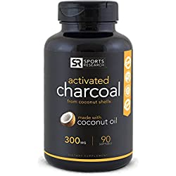 Premium Activated Charcoal infused with Organic Coconut Oil in a Mess-free liquid softgel capsule   2-in-1 Multipurpose Teeth Whitening and Detox Supplement   Non-GMO & Gluten Free
