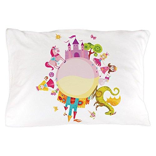 Pillow Case Princess Prince Dragon Kingdom