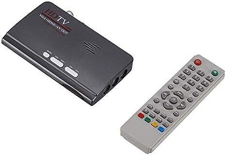FairytaleMMVGA DVB-T2 Decodificador de Receptor de señal de TV ...