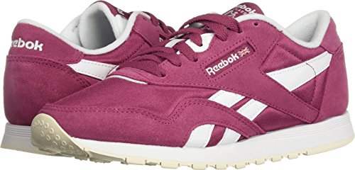Reebok Women's Classic Nylon Walking Shoe, Mutedberries-Twisted Berry, 8.5 M US