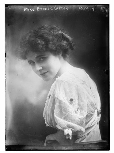 Photo: Miss Ethel Clayton,1882-1966,American actress,silent film - Directions New Get Zealand