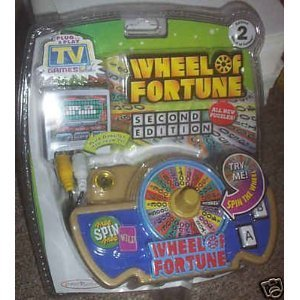 Wheel Of Fortune Second Edition TV Plug & Play Video Game System by Plug & Play