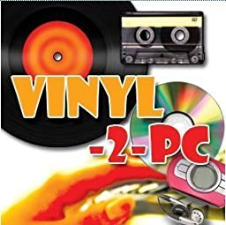 Vinyl-2-PC - Copy, Convert, Transfer Vinyl LPs, Audio Cassette Tapes & Minidiscs to your Windows PC, MP3 & CD. For Windows 8 and 7, Vista & XP. Inc all leads & CD. Connects headphone output on stereo to PC. Supplied with a 10 metre lead.