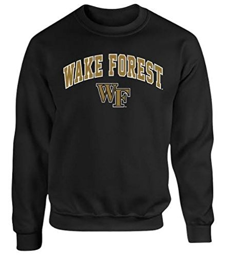 Elite Fan Shop Wake Forest Demon Deacons Crewneck Sweatshirt for sale  Delivered anywhere in USA