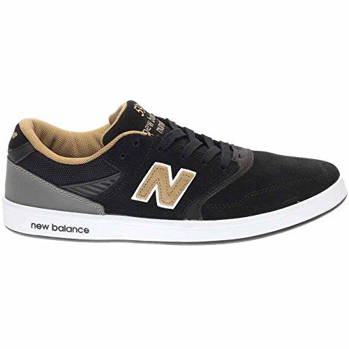 New Balance numérico zapatos 598–Color Negro y dorado, negro, 9 UK