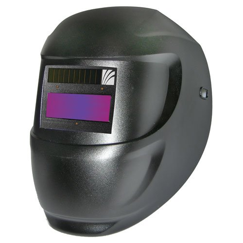 ArcOne 1000F-0100 Professional Grade Welding Helmet Carrera Shell with 1000F Auto-Darkening Filter, Black