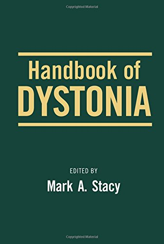 Handbook of Dystonia (Neurological Disease and Therapy)