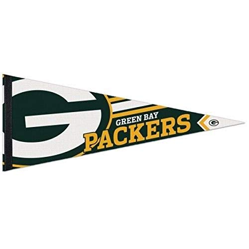 Green Bay Packers Pennant - WinCraft NFL 14507115 Green Bay Packers Premium Pennant, 12