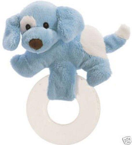 Baby Gund Spunky Puppy Teether - Blue ()