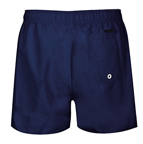 Cómodos Shorts de playa con bolsillo trasero Cuenta con una cintura elástica con cordón 100% Poliéster, 100% Poliéster