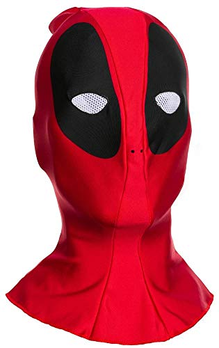 Marvel Men's Deadpool Adult Overhead Fabric Mask, Multi, One Size -