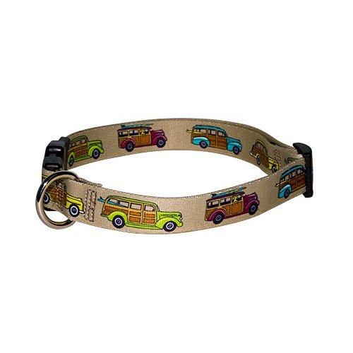 Woodies Dog Collar - Size Teacup 4