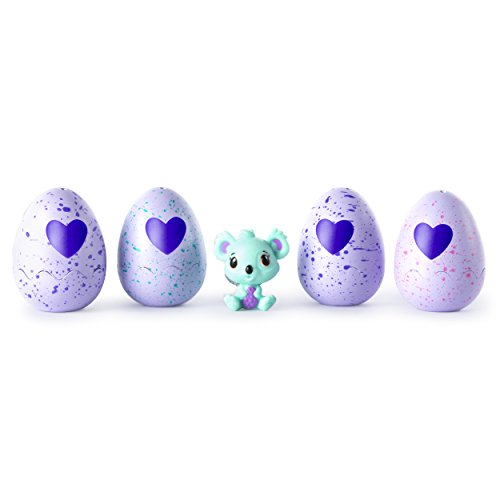 Hatchimals - CollEGGtibles - 4-Pack + Bonus (Styles & Colors May Vary) by Spin Master ()