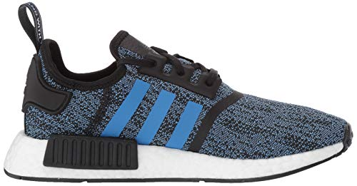 adidas Originals NMD_R1 Running Shoe True Blue/Utility Black, 4 M US Big Kid by adidas Originals (Image #6)