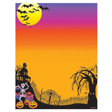 Halloween Printable Computer Papers Party Invitations Thank You Creative 25 Pk -