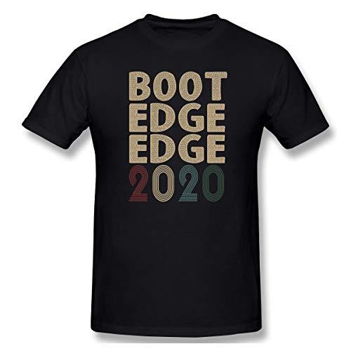 (Madison Pete Buttigieg 2020 Boot Edge Edge Pete Buttigieg for President Print Short Sleeve Funny Shirt for Men and Women Black)