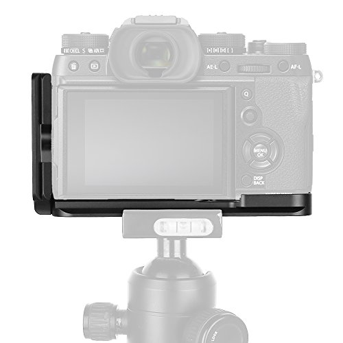 XT2 Grip Vertical Shoot Hand Grip QR Quick Release L Plate Camera Bracket Holder for Fuji Fujifilm XT2 X T2 X-T2