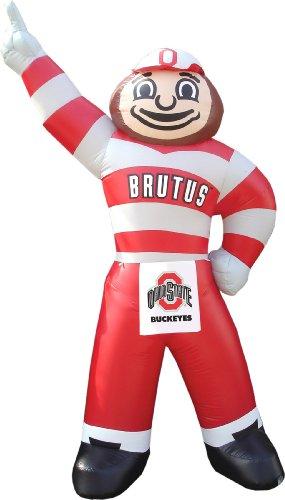 NCAA Ohio State Buckeyes Brutus Buckeye Inflatable Lawn Decoration
