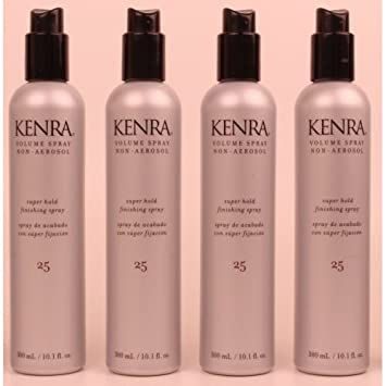Kenra – Classic Volume Spray 25 Non-Aerosol 10.1oz Lot of 4