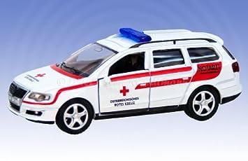 Siku 1307 A Volkswagen Passat Medico De Urgencias Carro Austria