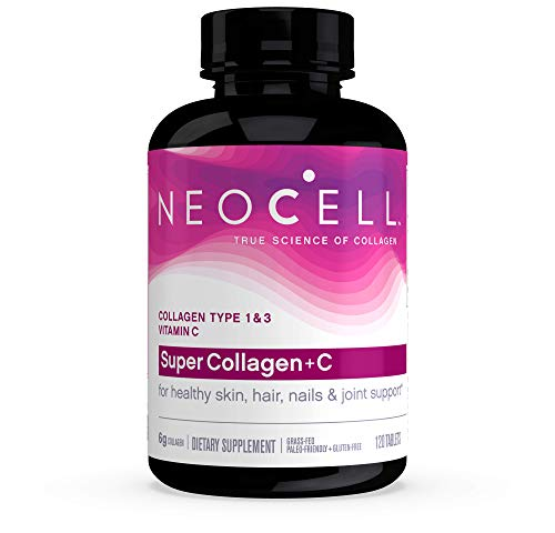 41W2tNBgmrL - NeoCell Super Collagen + C - 6,000mg Collagen Types 1 & 3 Plus Vitamin C - 120 Tablets (Packaging May Vary)