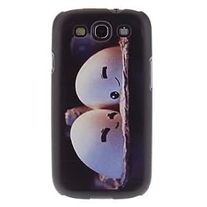 TOPQQ ETOPQQ Couple Pattern Hard Case for Samsung Galaxy S3 I9300