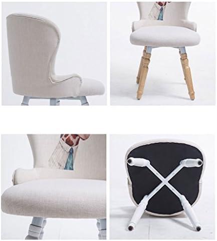 AJZGFChaise de salle à manger, chaise de cuisine Chaise de salle à manger en bois massif, tabouret de bureau tabouret de chaise simple moderne loisirs chaise d'ordinateur