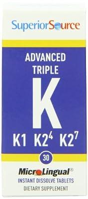 Superior Source Triple K Nutritional Supplements, 30 Count