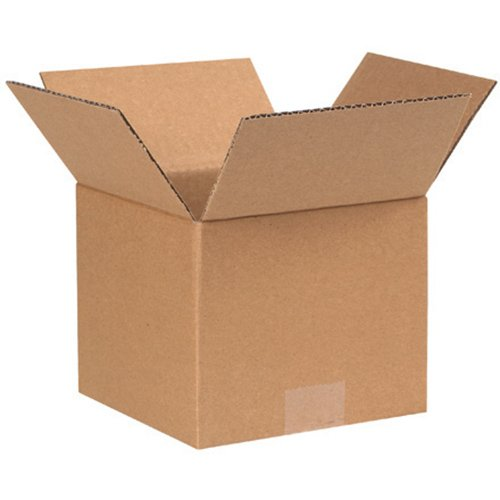RetailSource BX070707CB500 Corrugated Boxes, 7'' x 7'' x 7'', Brown (Pack of 500) by RetailSource