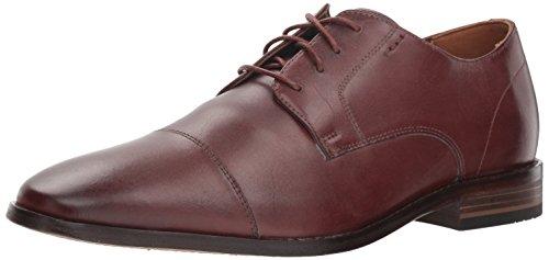 Bostonian Men's Nantasket Cap Oxford, British tan Leather, 120 M US