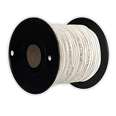 Theater Solutions C100-14-2 CL3 Rated Speaker Wire 2 Conductor 14 Gauge 100 Feet Roll UL Listed - 2 Conductor Audio