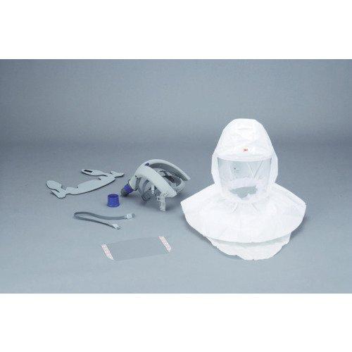 スリーエムジャパン 交換用フードセット バーサフロー電動ファン付呼吸用保護具 インナーカバータイプ 面体:フード S-657J  B01G8MV8JK
