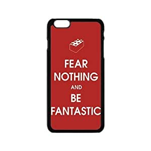 Fear Nothing And Be Fantastic Cool Red Hard Plastic Cover Case for Iphone 6 4.7''