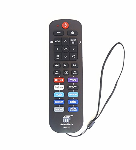 New NS-RCRUS-16 Remote fit for INSIGNIA Roku TV NS-24ER310NA