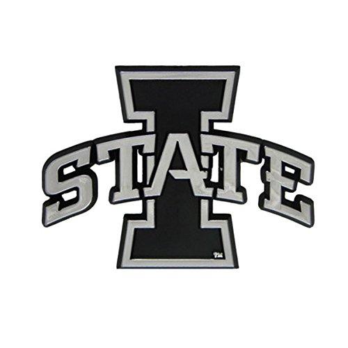 NCAA Iowa State Cyclones Chrome Automobile Emblem