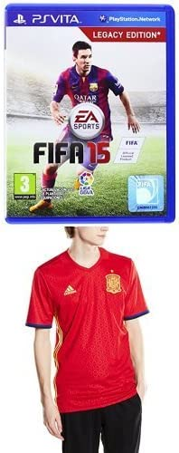 FIFA 15 + 1ª Equipación Selección Española de Fútbol Euro 2016 ...