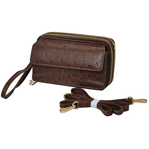 Ostrich Brown NGIL All In One Wallet