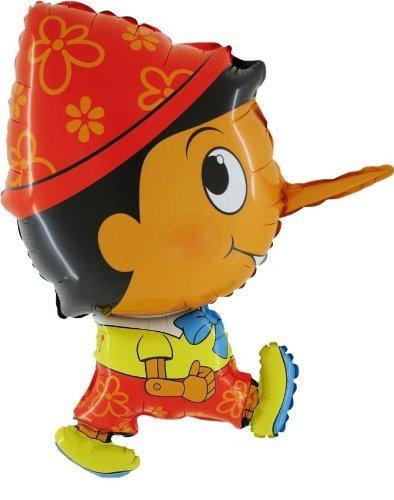 Zorara Pinocchio 31-Zoll-Folie Geformter Ballon Spielzeug CS145