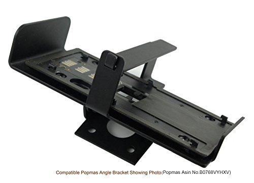 Popmas Metal Locking Mounting Plate Wireless Doorbell Anti