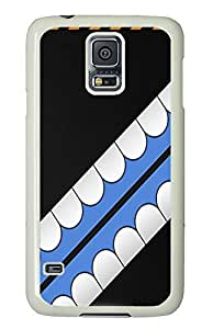customized Samsung Galaxy S5 covers Kaws Zipper Pattern PC White Custom Samsung Galaxy S5 Case Cover by icecream design