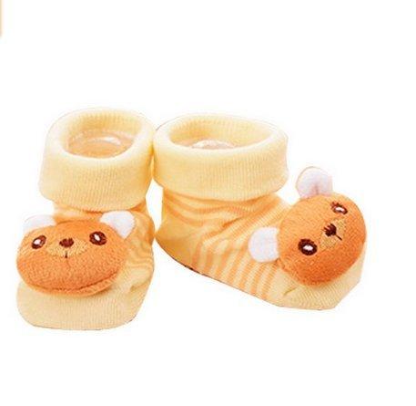 1 corto Cartoon botas Bear zapatos panda calcetín danapp Unisex cálido 3d Slipper Creative Bebé lindo nYO0wgq