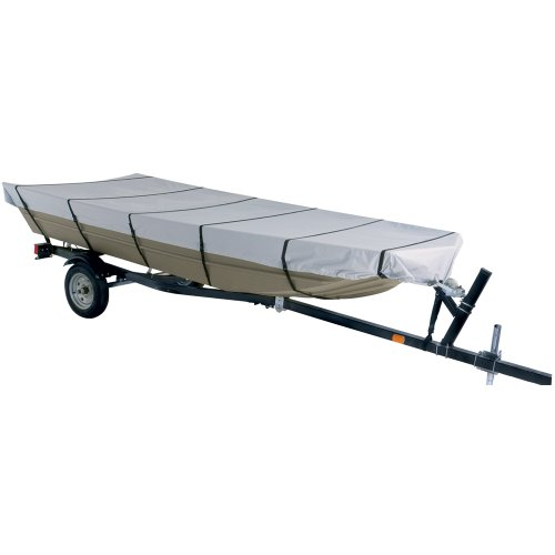 "Jon Boat Cover Size: 168"" L x 70"" W"
