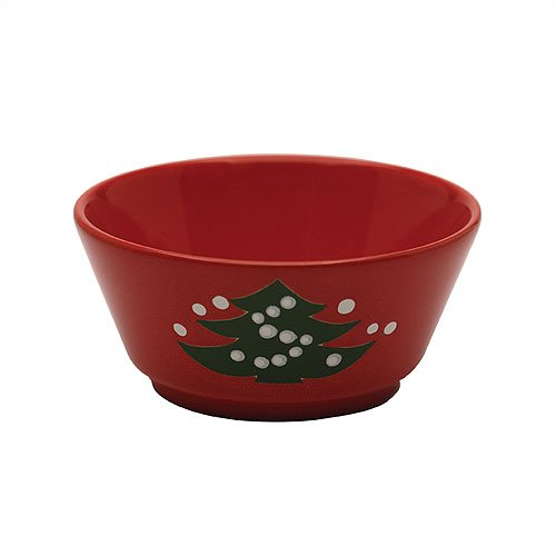 Waechtersbach Christmas Tree Soup Bowl, used for sale  Delivered anywhere in USA