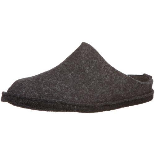 Haflinger Womens Flair Soft Wool Felt Sandals Graphite TS7h28