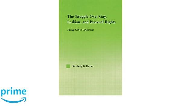Bisexual cincinnati facing gay in lesbian off over right struggle