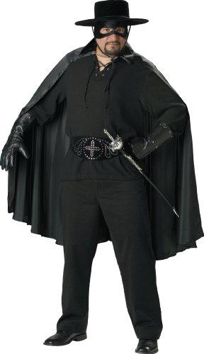 Costume Black Fencing (InCharacter Costumes Bandido Adult Plus Dress Costume, Black,)