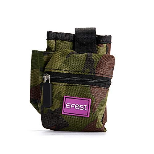 Vape Case Mod Box Vapor Mini Pouch | Camo Premium Carrying Bag for Travel Vaping Supplies | Organized Vape Mod | eJuice | Battery | Vape Pen Atomizer Tank (Lowkey)